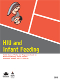 HIV and Infant Feeding- Global Status of Policy and Programmes based on WBTi assessment findings from 57 countries-2015