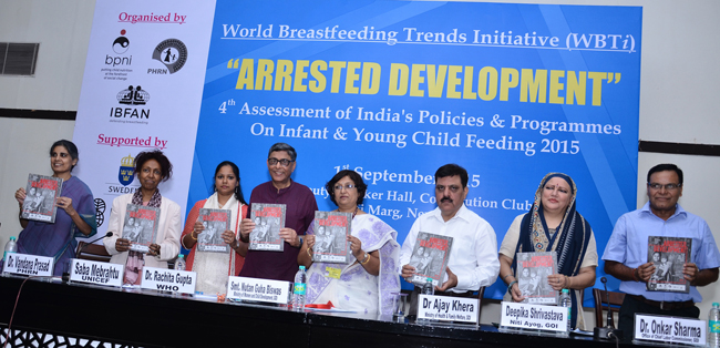 WBTi -The Launch of the 4thAssessment of India's Policy and Programmes on Infant and Young Child Feeding