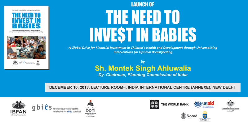 LAUNCH OF THE NEED TO INVE$T IN BABIES